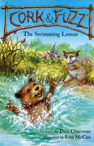 The swimming lesson cover